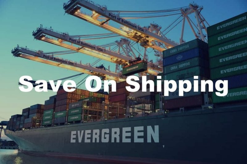 save on shipping